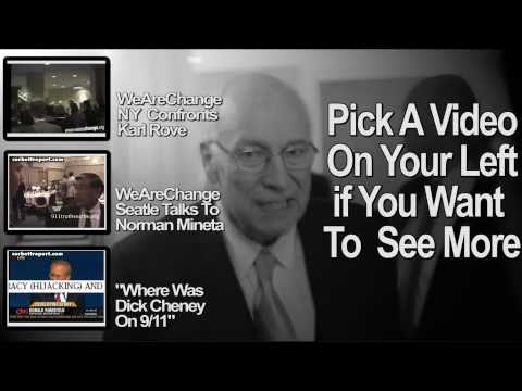 WeAreChange Confronts Dick Cheney on 9/11 Stand-Down Order