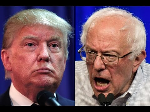 Ralph Nader on Donald Trump vs Bernie Sanders in 2016