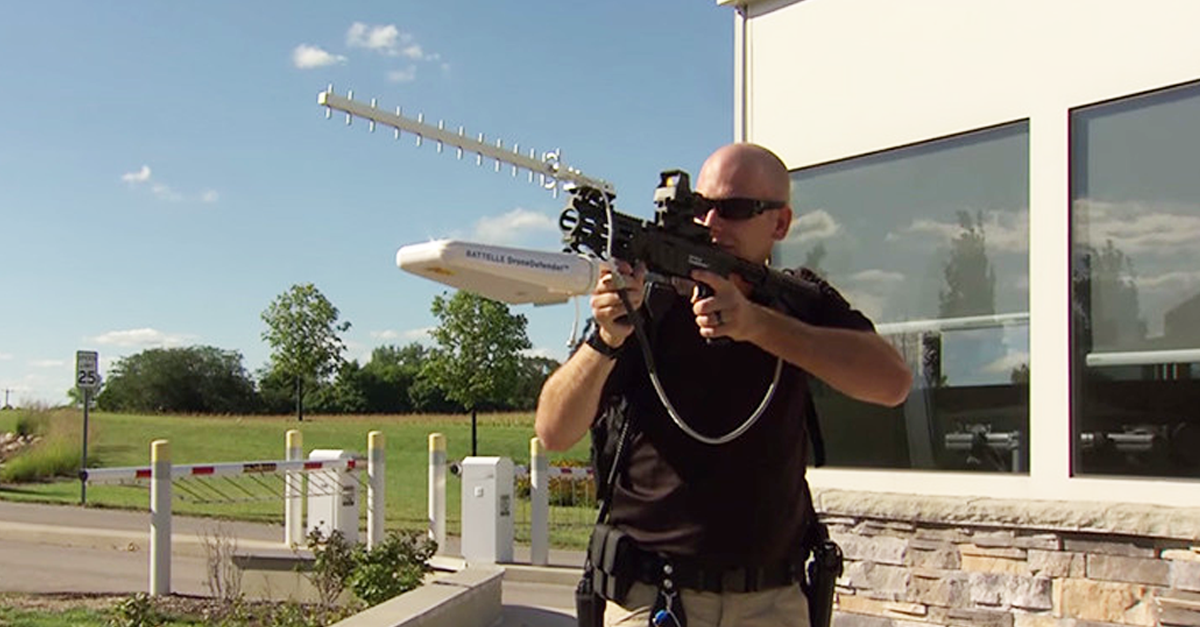 Special New Gun Can Stop Drones Using Radio Signals