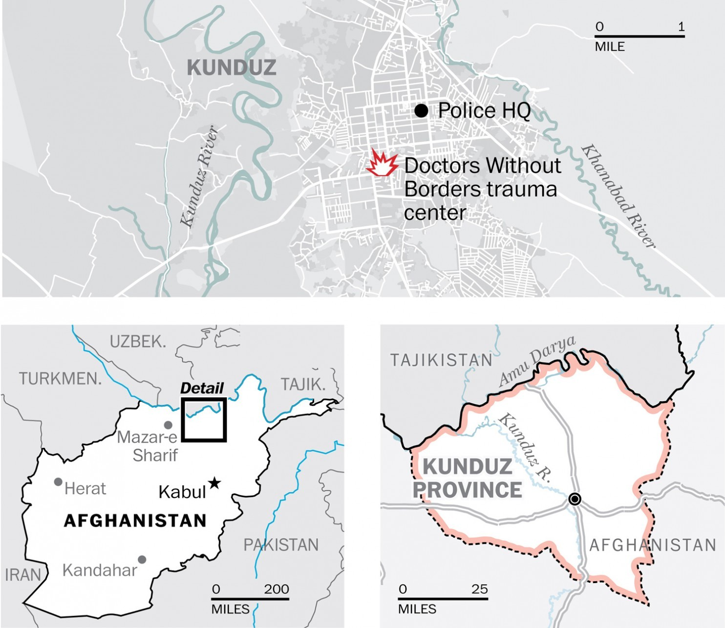 Doctors Without Borders says U.S. airstrike hit hospital in Afghanistan; at least 19 dead