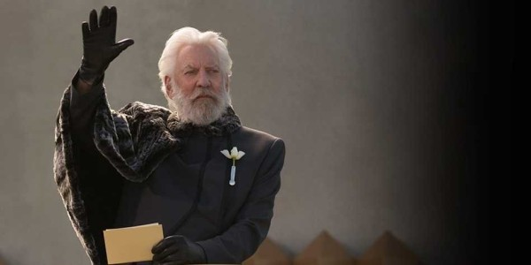 Actor Donald Sutherland: The Hunger Games an Allegory for ...