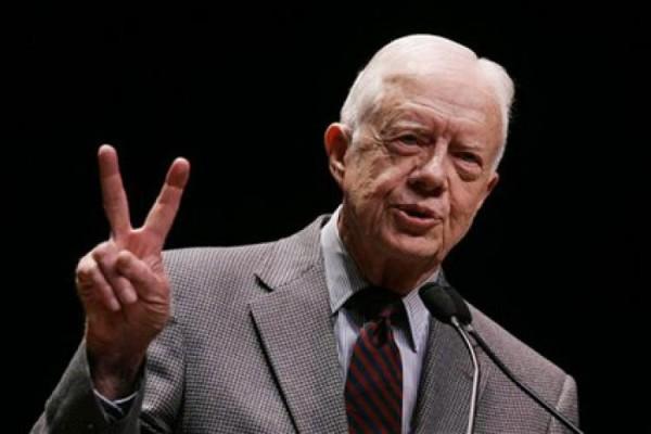 hariansib_Meski-Menderita-Kanker--Mantan-Presiden-AS-Tetap-Melayani-di-Gereja