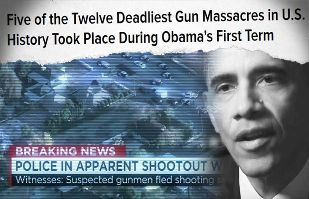 Why Have There Been More Mass Shootings Under Obama Than The Previous Four Presidents Combined?