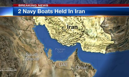 Iran Takes Two Navy Vessels and 10 Americans into Custody in Iranian Waters