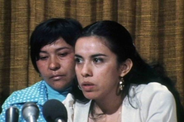 14.-Dolores-Madrigal-and-Antonia-Hernandez-at-press-conference.NBC-Universal-Archives-620x412