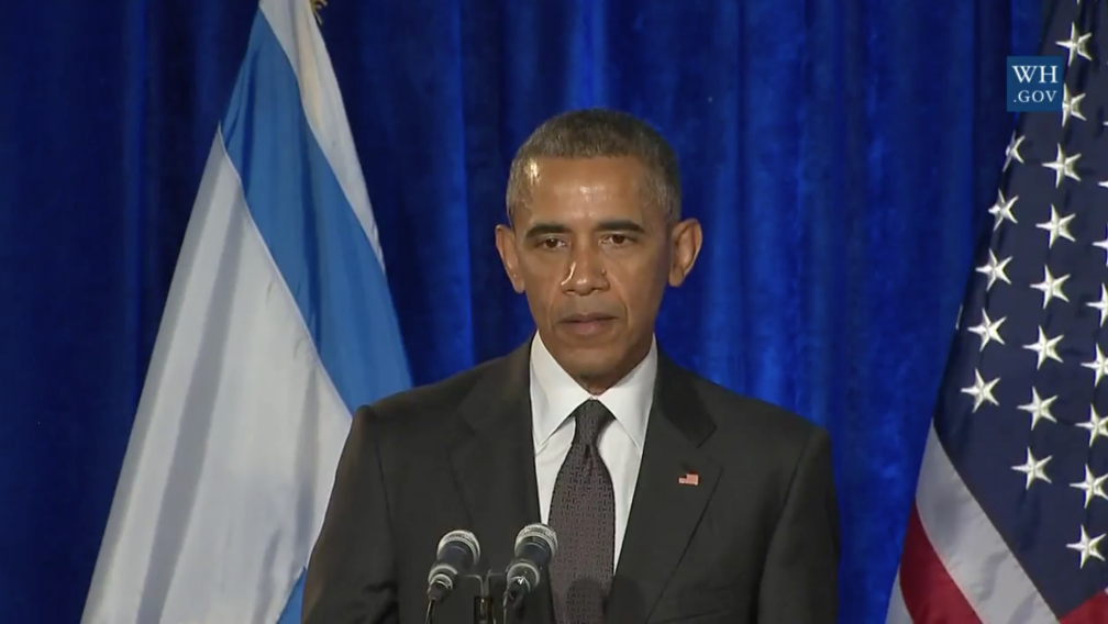 Obama at Holocaust event: We are all Jews; we must all fight anti-Semitism, evil