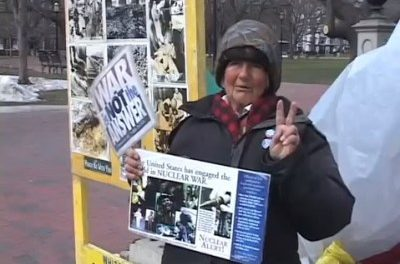 Concepcion Picciotto, a homeless anti-war protester has died at age 80