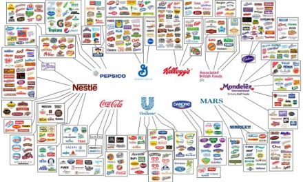 6 critical graphics showing who owns all the major brands in the world