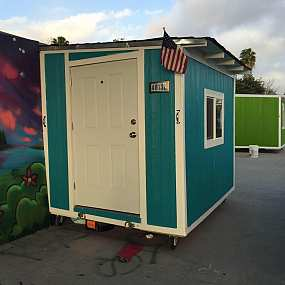 Private Citizens Try to Help Homeless By Giving Them Tiny Houses; City of Los Angeles Steals Them