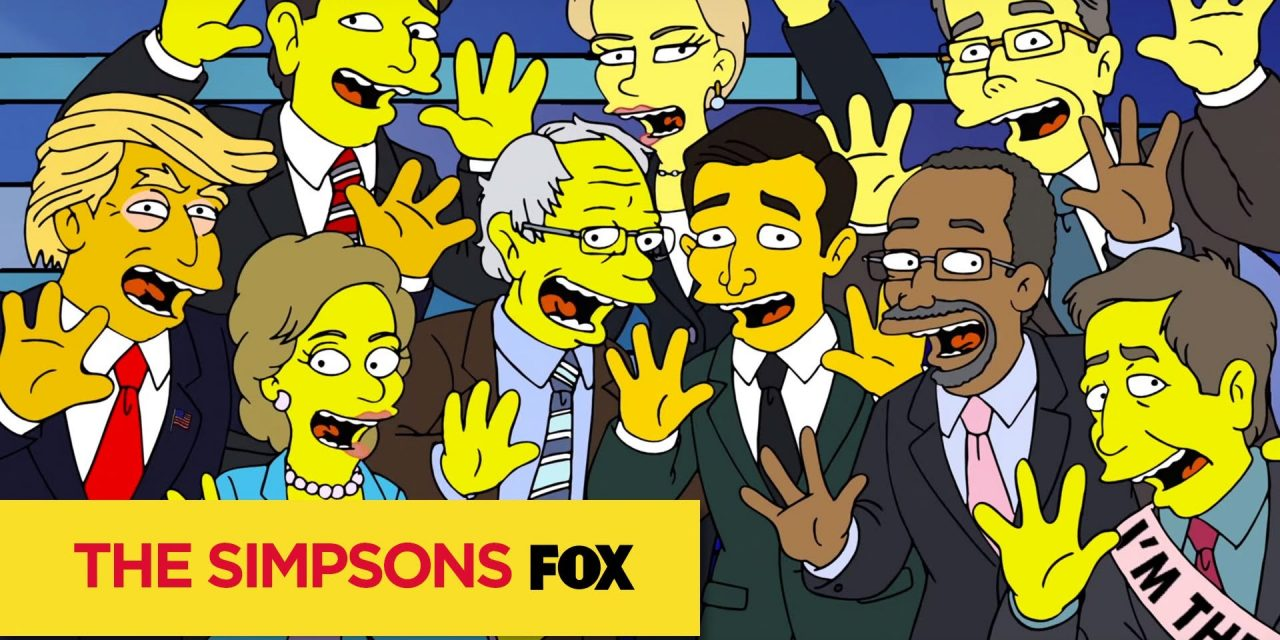 'The Simpsons' Mocks the Insane 2016 Presidential Race, Our Collective Nightmare