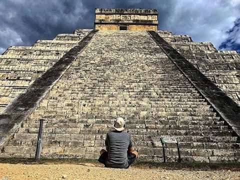 Exploring The Mayan Chichen Itza Pyramid and Cenote's in The Yucatan