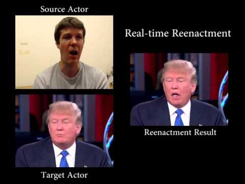 Face2Face: Insane Facial Reenactment Technology