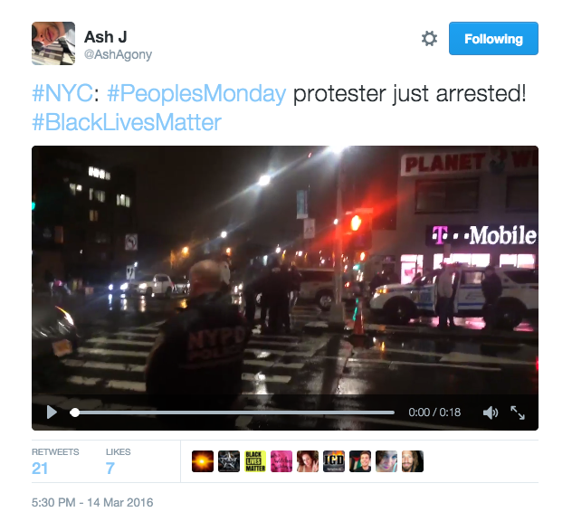 A Week of Crackdowns on Activists and Copwatchers in NYC