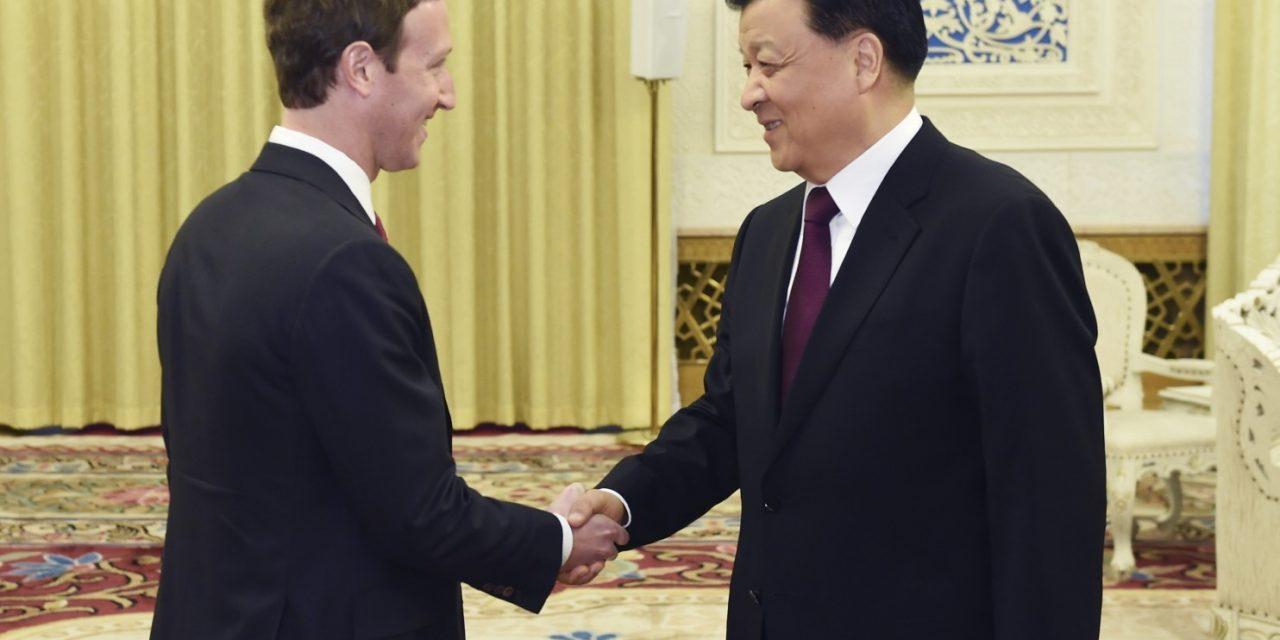 Facebook's Zuckerberg meets with China's propaganda chief