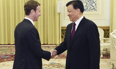 Facebook's Zuckerberg meets with China's propaganda chief