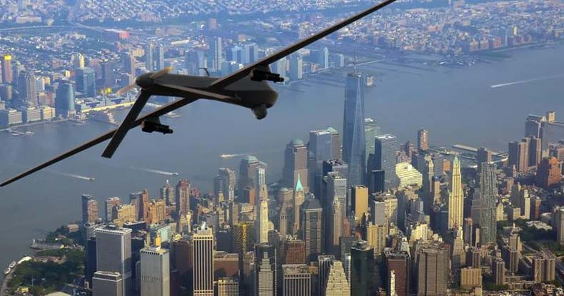 The Pentagon Just Admitted It's Been Deploying Military Drones Over The US To Spy On Americans