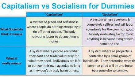 """Capitalism v. Socialism for Dummies""… This Is Brilliant"