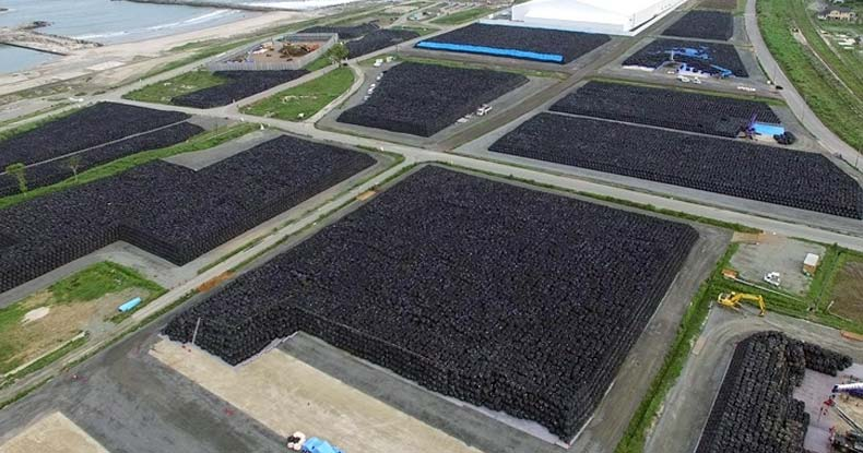 'City' of Waste — Fukushima Cleanup Now Up to 10.7 Million 1-ton Bags of Radioactive Waste