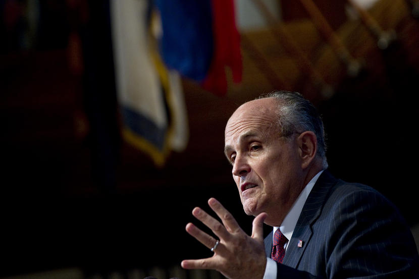 Giuliani: Clinton 'created ISIS,' could be considered a 'founding member'
