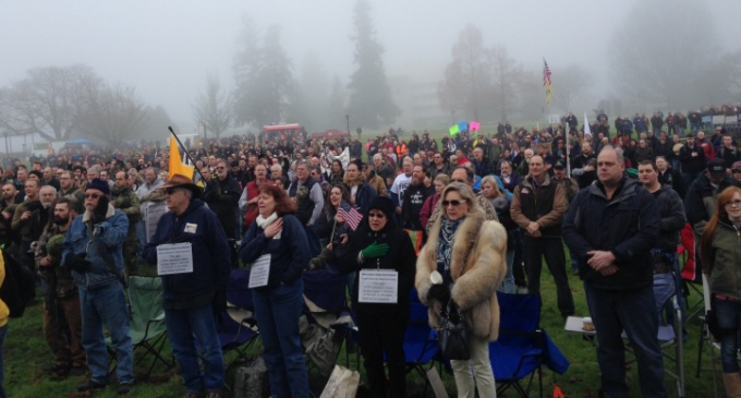 WA GUN OWNERS STAGE THE LARGEST FELONY CIVIL DISOBEDIENCE RALLY IN AMERICA'S HISTORY