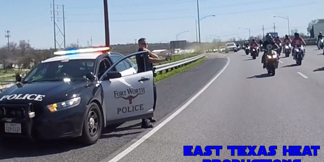 Texas Cop Sprays Mace At Passing Motorcyclists On Expressway