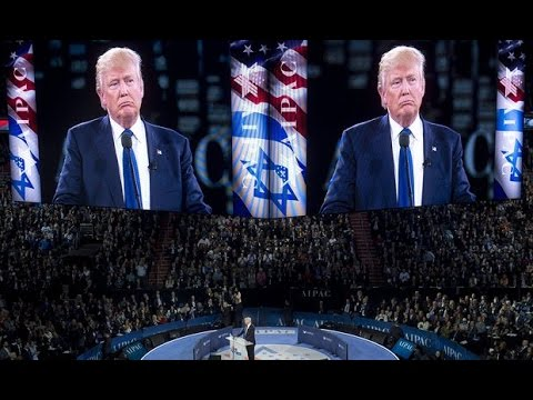 Trump Tells AIPAC: 'I'm Not Here To Pander'–And Then Proceeds to Pander