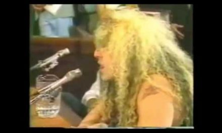 Dee Snider's Epic Senate Hearing Speech – Censorship
