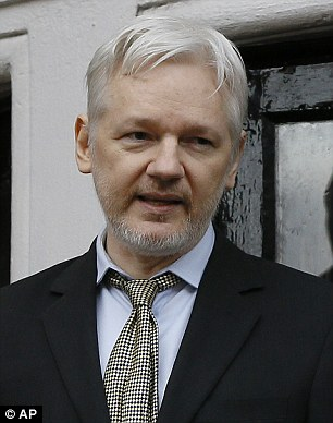 'A vote for Hillary is a vote for endless, stupid war': Julian Assange accuses Clinton of 'spreading terrorism' through 'poor decisions' in diatribe against US Presidential hopeful