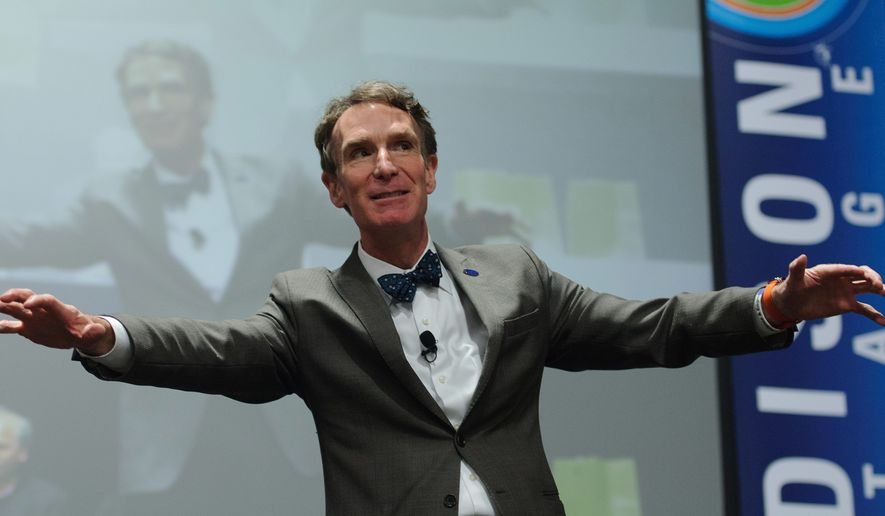Bill Nye, the science guy, is open to criminal charges and jail time for climate change dissenters