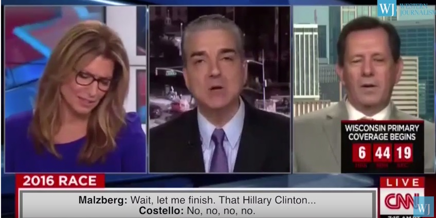 WATCH: CNN Cuts Off Guest For Discussing Clinton's Defense of Child Rapist