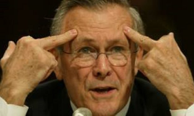 Twitter Attacks Rumsfeld After He Tweets About His Life Being Too Short