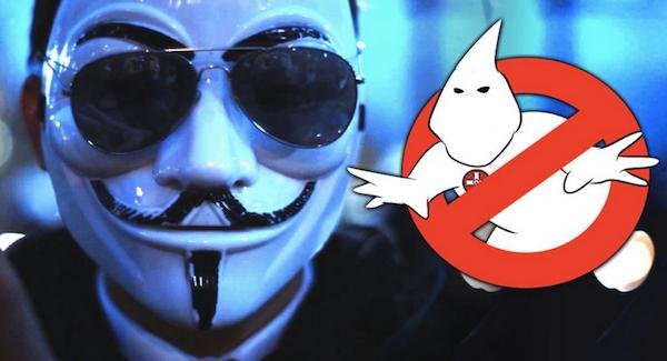 Anonymous Takes Down KKK Website