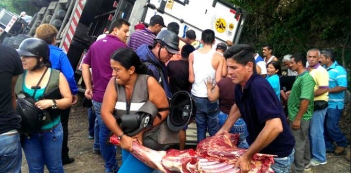 Looting On the Rise As Venezuela Runs Out of Food, Electricity