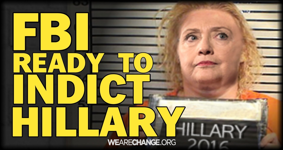 Hillary Clinton Could be Indicted on Federal Racketeering Charges