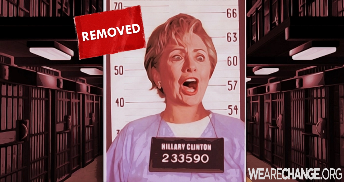 Huff Post Removes Article Claiming Hillary Clinton Will Be Arrested