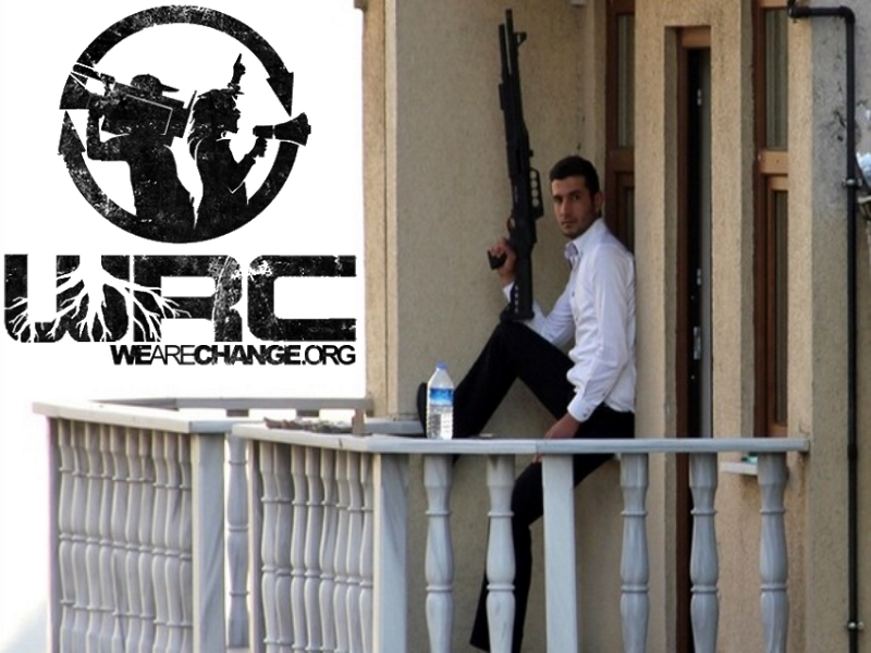 Turkish Protester Robs Bank and Throws Money From Balcony