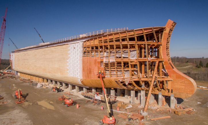 Kentucky tax payers forced to fork over $18 million for creationist's 'Ark Encounter' theme park