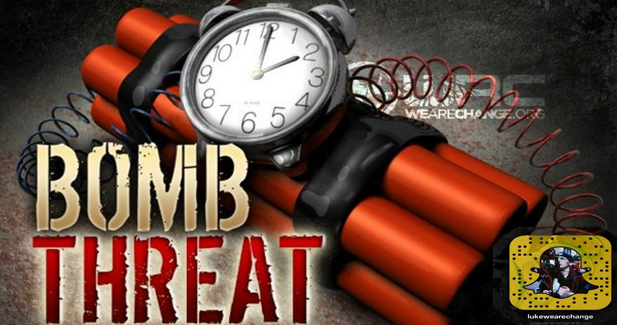 WORLD WIDE WAVE OF BOMB THREATS !