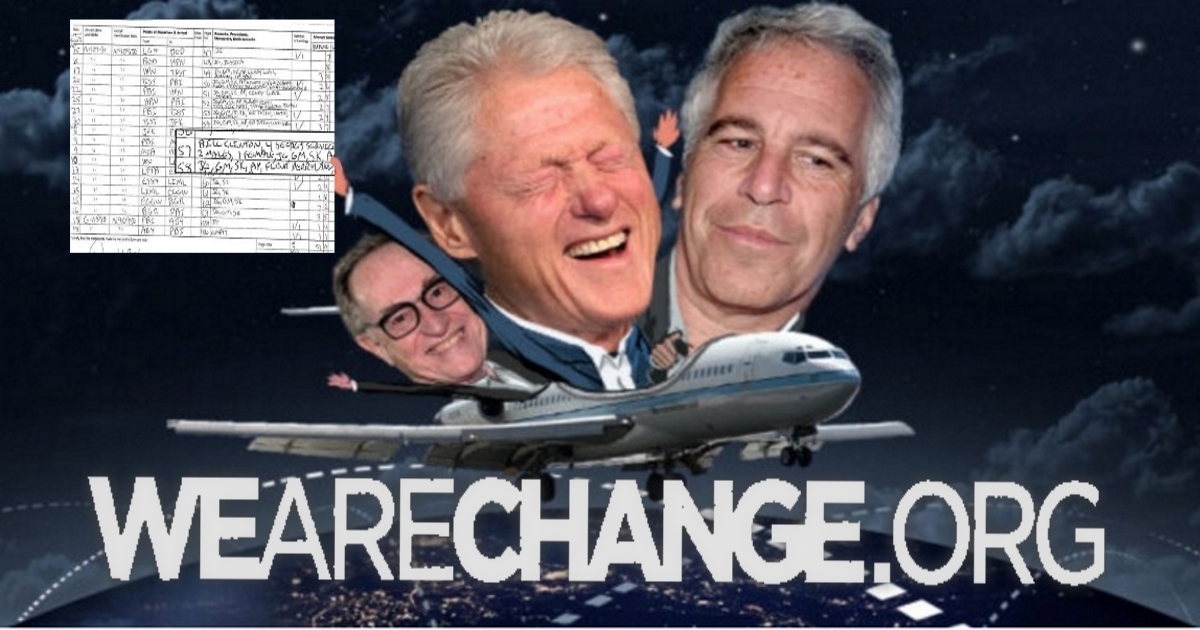 Clinton flew on sex offender's jet multiple times.