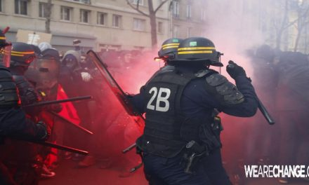 Chaos Strikes France As Austarity Strikes Escalate