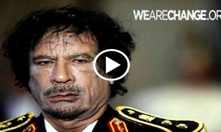 The real Reasons why Gaddafi Was Killed