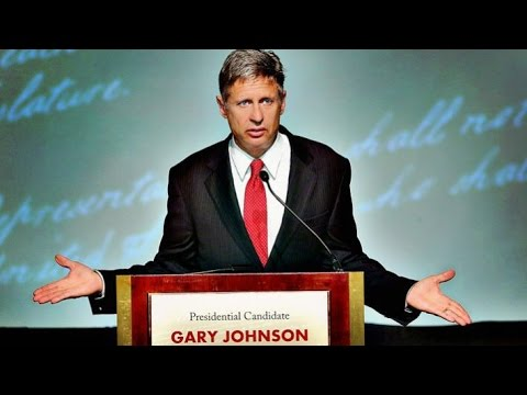 Gary  Johnson Wins Libertarian Nomination