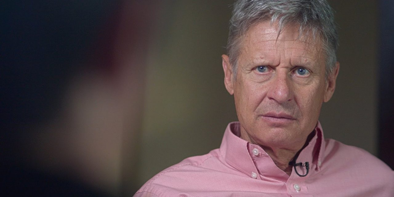 BILLIONAIRES CONSIDER BACKING LIBERTARIAN GARY JOHNSON