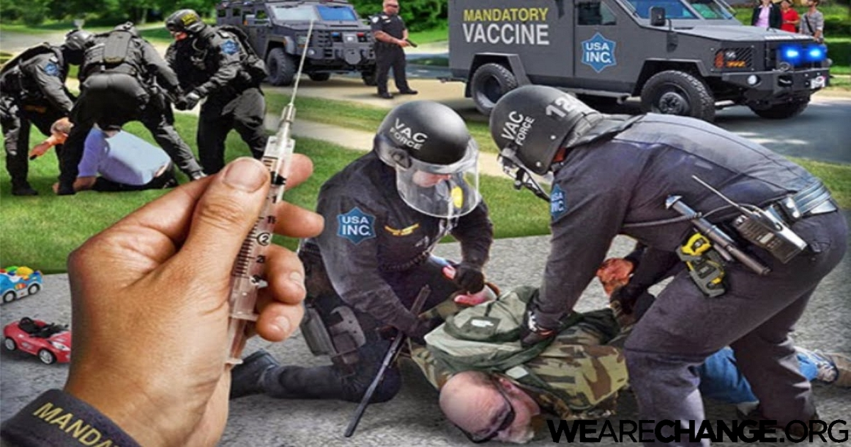 Hospitals Vaccinating Patients by Force & Without Their Knowledge