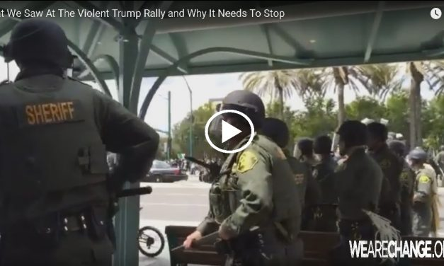 What We Saw At The Violent Trump Rally and Why It Needs To Stop