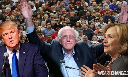 """Sanders to Hillary """"Yes, Trump's Foreign Policy Ideas Are Scary. But So Are Yours"""""""