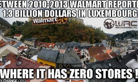 How Walmart Hides an Incredible Amount of Money in Luxembourg