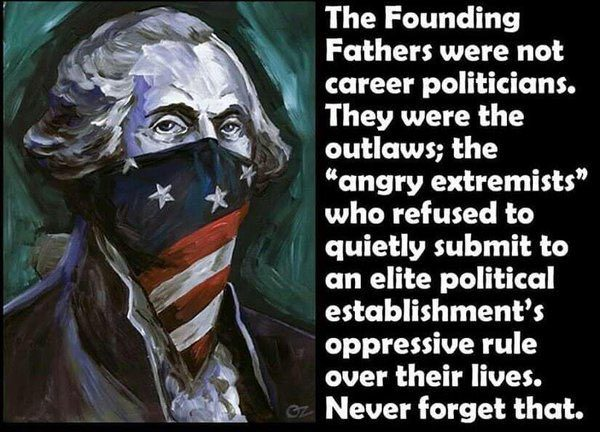 founding fathers extremeist