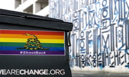 #ShootBack: L.A. Covered in Rainbow Colored Pro-Gun Posters !