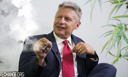 Gary Johnson stopped using marijuana for White House bid